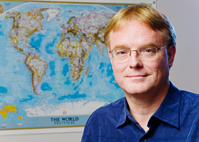 Jrgen Scheffran, a research scientist in the Program in Arms Control, Disarmament and International Security and the Center for Advanced BioEnergy Research at Illinois, is among those raising concerns that climate-change-related damage to global ecosystems and the resulting competition for natural resources may increasingly serve as triggers for wars and other conflicts in the future.