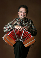 Peter Soave will perform on the bandonen - an accordion-like instrument indigenous to Argentina, with buttons instead of keys.