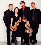 Pacifica Quartet, the U. of I.'s quartet in residence, will perform with Ian Hobson in