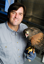 Wildlife veterinarian Mark Mitchell co-edited the new