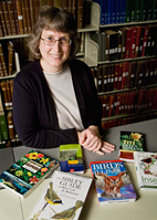 Diane Schmidt, the biology librarian at the U. of I. Library, has built and launched the most complete database of field guides to date.