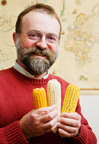 Torbert Rocheford, a profesor of plant genetics in the department of crop sciences, and his research team can now inexpensively screen different maize varieties for this allele and breed those that contain it to boost the nutritional quality of the maize.