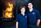 Gavin Horn and Denise Smith are the principal investigators leading a multidisciplinary study looking at lighter, cooler equipment to reduce firefighter injuries and deaths. Horn is the research program coordinator in the Illinois Fire Safety Institute and a visiting research scientist in the U. of I. mechanical science and engineering department; Smith is a research scientist at the institute and a professor at Skidmore College.