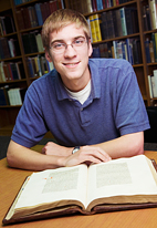 Christopher Cook will begin cataloging the Westminster Abbey library's collection of incunabula, or early printed books on June 24.