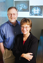 UI psychology professors Gregory A. Miller and Wendy Heller were co-principal investigators on a study that examined two different types of anxiety. Their work appears this month online in Psychophysiology.