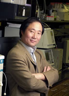 Yi Lu, professor of chemistry, led the research team that has developed a simple, disposable sensor for detecting hazardous uranium ions, with sensitivity that rivals the performance of much more sophisticated laboratory instruments.