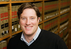 Zachary Elkins, above, a professor of political science, is working with Tom Ginsburg, below, an Illinois professor of law, on a project to collect and analyze some 760 constitutions used worldwide since the U.S. Constitution took effect.