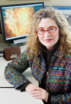 Donna Cox, a professor of art and design at the University of Illinois at Urbana-Champaign and senior research scientist at the university's National Center for Supercomputing Applications, was invited by the Museum of Science and Industry in Chicago to contribute to