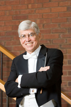 James Keene, the director of bands and the Brownfield Professor of Music at the U. of I., will conduct at the Carnegie Hall concert.