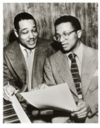 Billy Strayhorn, right, had a long professional relationship with Duke Ellington. On Nov. 8, their relationship -- and others -- will be explored in