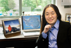 Xinzhao Chu, a research scientist at Illinois, is a co-author of the paper to be published in the July issue of the journal Geophysical Research Letters that calls into question the role these clouds may play in monitoring global climate change.