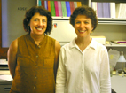 U. of I. history professors Jean Allman, left, and Antoinette Burton will co-edit the Journal of Women's History- the first devoted exclusively to the international field of women's history.
