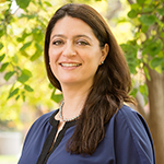 Citlali López-Ortiz, assistant professor of kinesiology and community health in the College of Applied Health Sciences