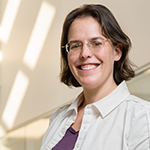 Dr. Rebecca Smith, assistant professor of epidemiology, department of pathobiology, College of Veterinary Medicine