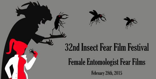 Female entomologists are themselves a source of horror in this year's Insect Fear Film Festival at the University of Illinois.  Click photo to enlarge
