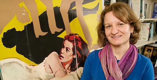 Julie Turnock, a professor in the College of Media's cinema studies department