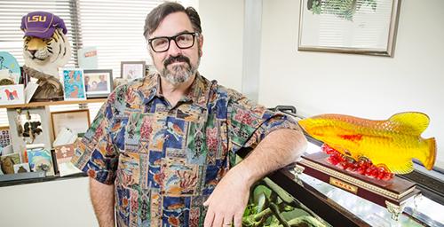 Mark Mitchell, a professor of veterinary medicine