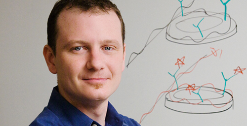 Ryan C. Bailey is one of two Illinois professors named the world's top young innovators by Technology Review, the world's oldest technology magazine.  Click photo to enlarge