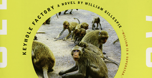 """""""Keyhole Factory,"""" published by Counterpoint/Soft Skull in Berkeley, Calif., is William Gillespie's 10th book of fiction or poetry. Gillespie is an award-winning author, and he is the communications coordinator for the U. of I.'s School of Molecular and Cellular Biology,  Click photo to enlarge"""