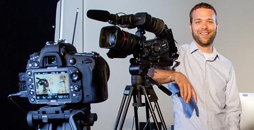 Eric Kurt, the Media Commons coordinator