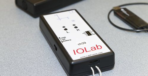 Physics professor Mats Selen developed the IOLab system, built around a low-cost, easy-to-use, all-purpose handheld device that performs a myriad of functions for both introductory and advanced physics courses.