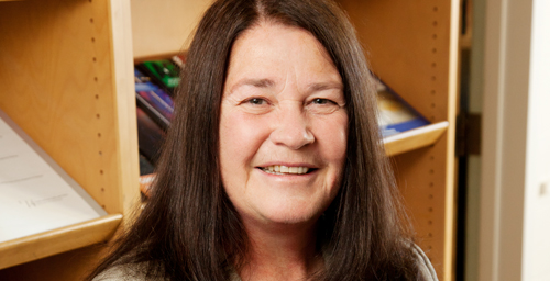 UI physics and astronomy professor Susan Lamb is still in the evolution phase of retirement, having stepped down this summer following a career at the university that dates back to the 1970s when she emigrated from London.  Click photo to enlarge
