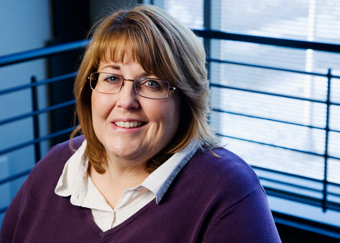 """Diane Arnold  affectionately called the """"Queen of Voicemail"""" by one of her colleagues  is a communication service specialist III for Campus Information Technologies and Educational Services."""