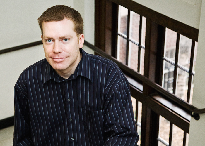 Scott Bartlett is an admissions and records representative in the department of philosophy.