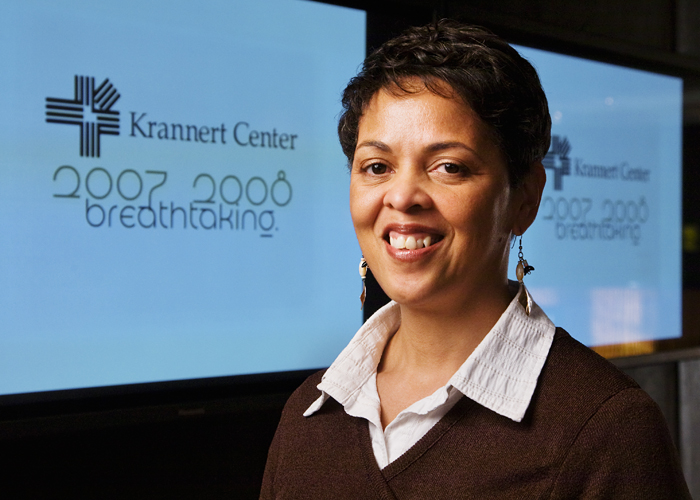 Crystal Womble is a community affairs specialist at Krannert Center for the Performing Arts.