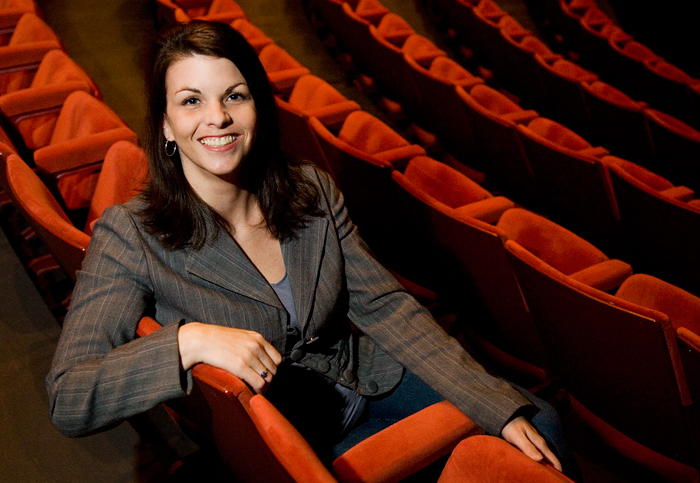 Jenny German is assistant director of the ticket office at Krannert Center for the Performing Arts.