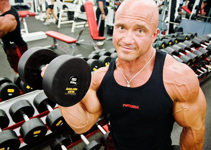 Kevin Knapp is an elevator mechanic in the Elevator Shop in the Facilities and Services Division. He also is an avid bodybuilder and has been weight training for 21 years.