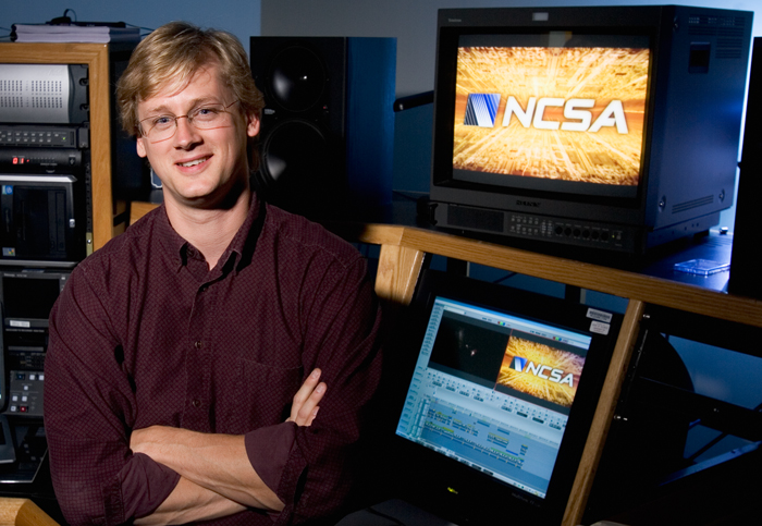 Jeff Carpenter is a multimedia specialist at the National Center for Supercomputing Applications.