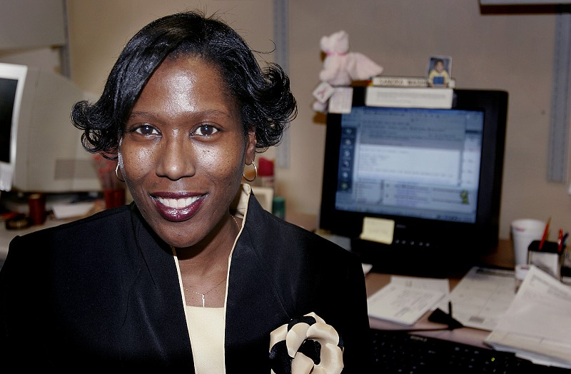 Sandra Washington is a clerical assistant in the Service Office for the Division of Facilities & Services.