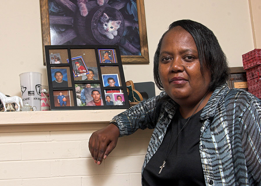 Michele Winfrey is an admissions and records officer in the School of Social Work.