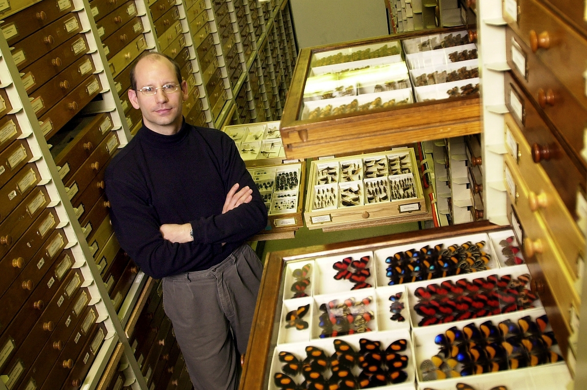 Colin Favret is the insect collection manager for the Illinois Natural History Survey and a UI grad.