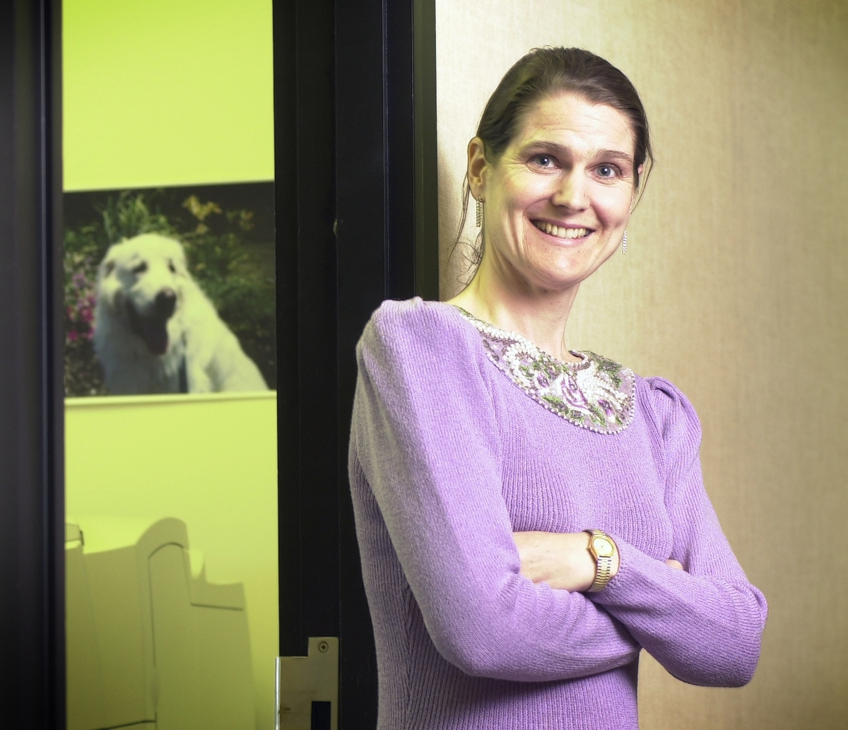 Jessica Lewis Watson is a secretary III at the Children's Research Center and has lots of stories to tell.