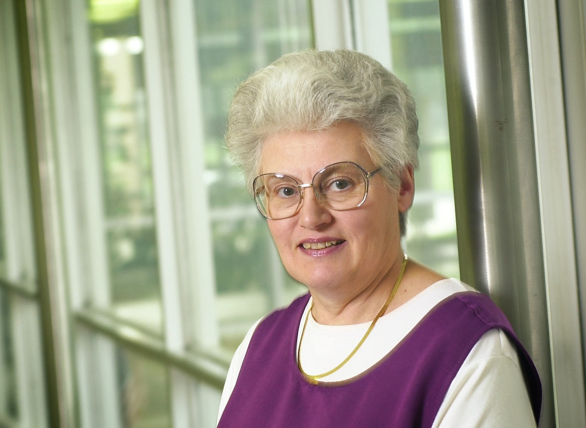 Phyllis Jones is a secretary IV in the Division of Rehabilitation-Education Services.