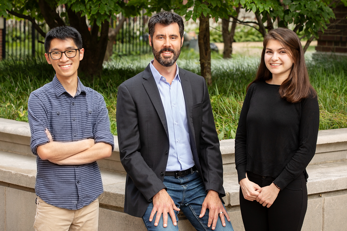 A portrait of Illinois researchers involved in the study