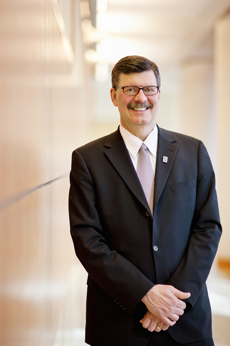 The new online MBA degree will democratize access to the coveted graduate degree, said Larry DeBrock, the Josef and Margot Lakonishok Endowed Dean of the College of Business.