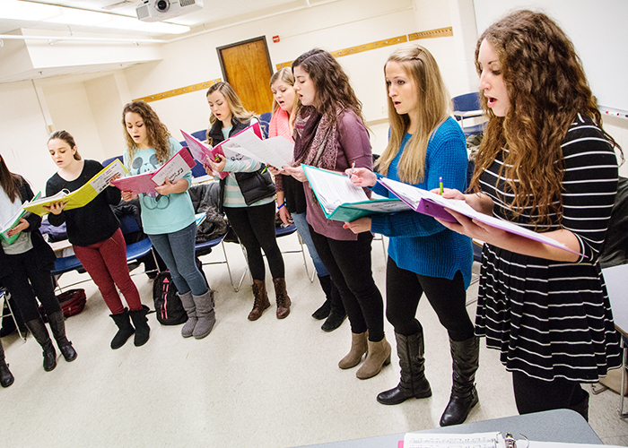 Voices in harmony: Student a cappella groups enjoy close