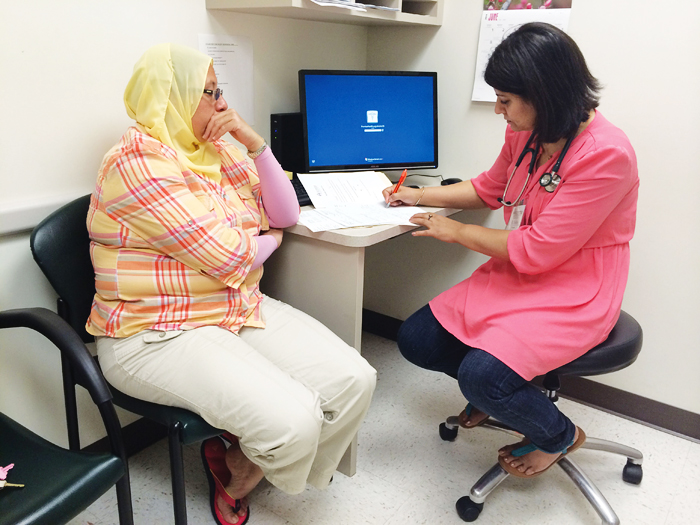Avicenna services are available to anyone in the community free of charge, and its mission is to deliver immediate access to health care regardless of religious beliefs. Since its inception, the interfaith center has helped more than 3,000 patients.