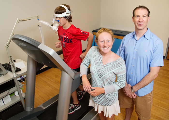Postdoctoral researcher Laura Chaddock-Heyman, U. of I. kinesiology and community health professor Charles Hillman and their colleagues found that higher-fit kids had thinner gray matter and better mathematics achievement than their lower-fit peers.