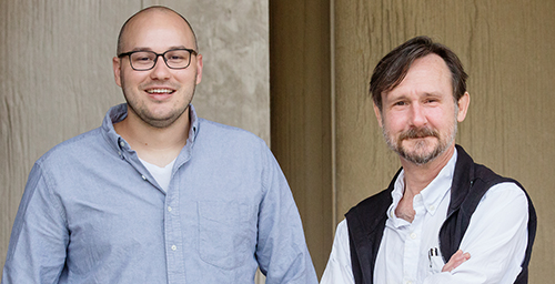 University of Illinois graduate student Zachary Horne, left, psychology professor John Hummel and their colleagues developed an intervention that moderated anti-vaccination views.