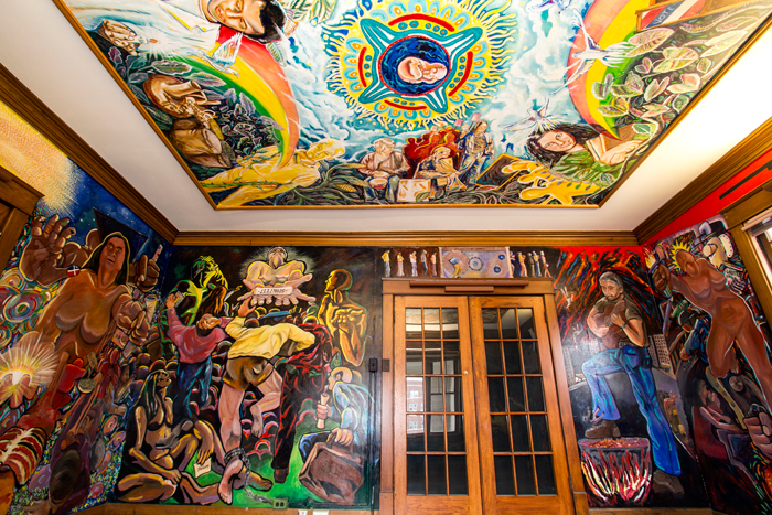 The Murals Inside The Former Site Of The U. Of I.u0027s Department Of  Latina/Latino Studies And The La Casa Cultural Latina, A Converted House At  510 E. ...