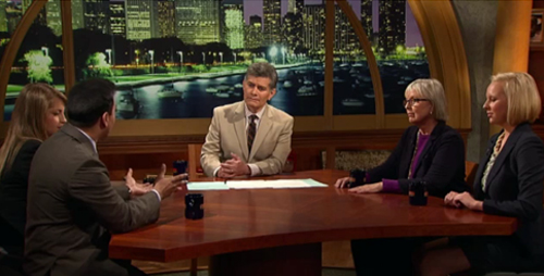 Two students and professor Nancy Benson appeared on WTTW, Chicago's public TV station, to talk about their work in Turkey.