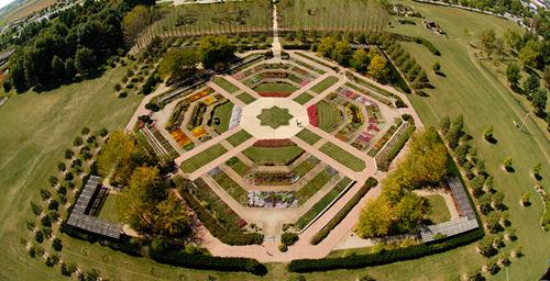 birds eye view of the miles c hartley selections garden lincon avenue is the