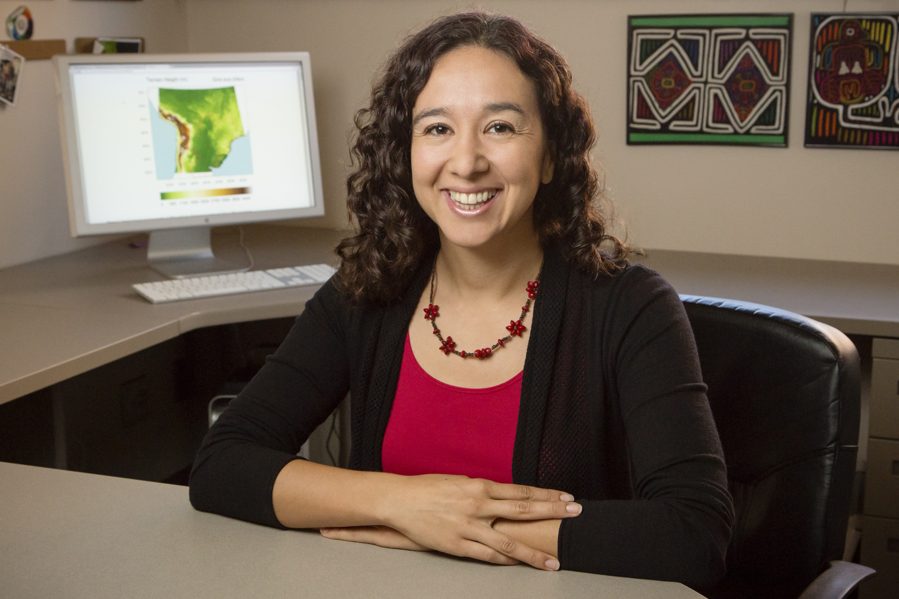 Francina Dominguez is a new assistant professor in the department of atmospheric sciences. She also is an alumna of the University of Illinois, earning her Ph.D. and M.S. in civil and environmental engineering at the Urbana-Champaign campus.