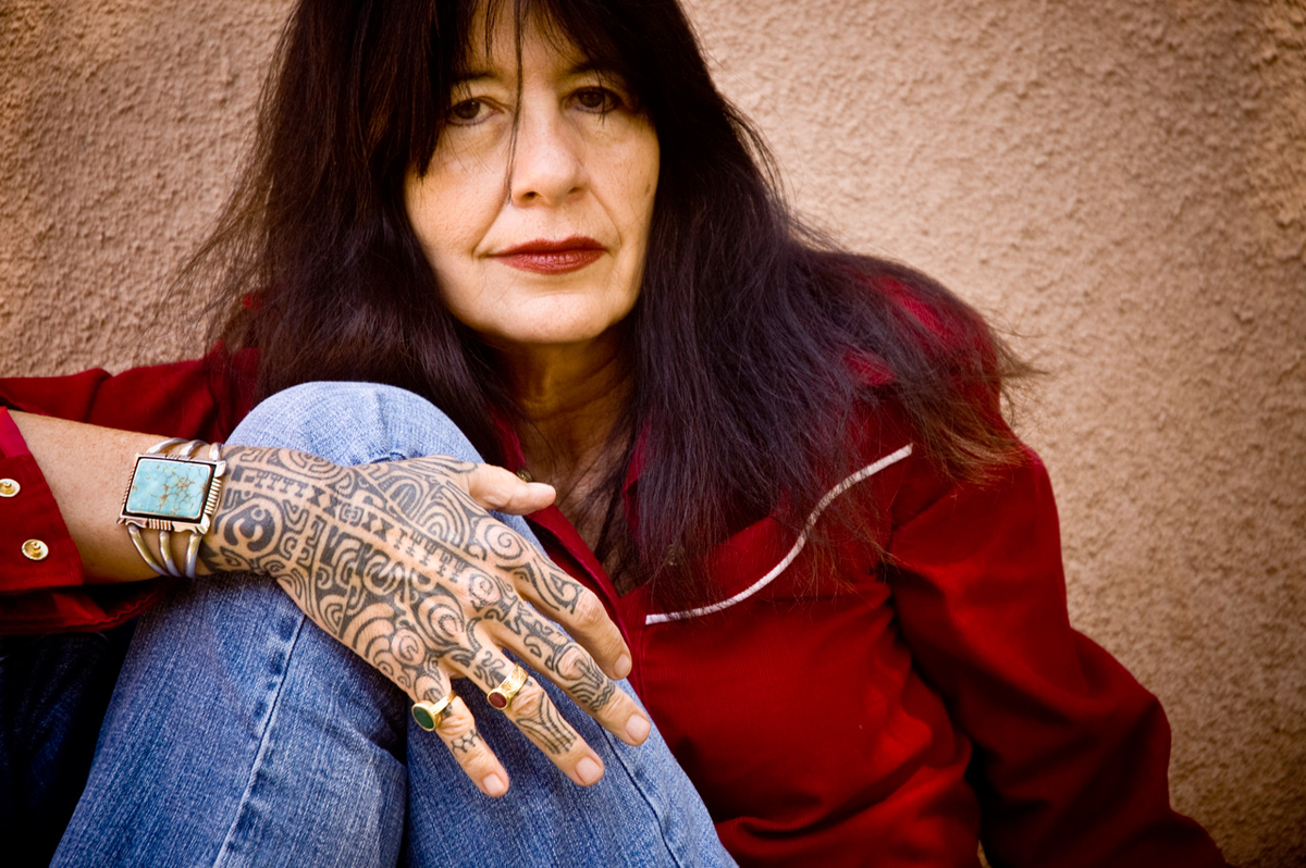 Award-winning poet, author and musician Joy Harjo