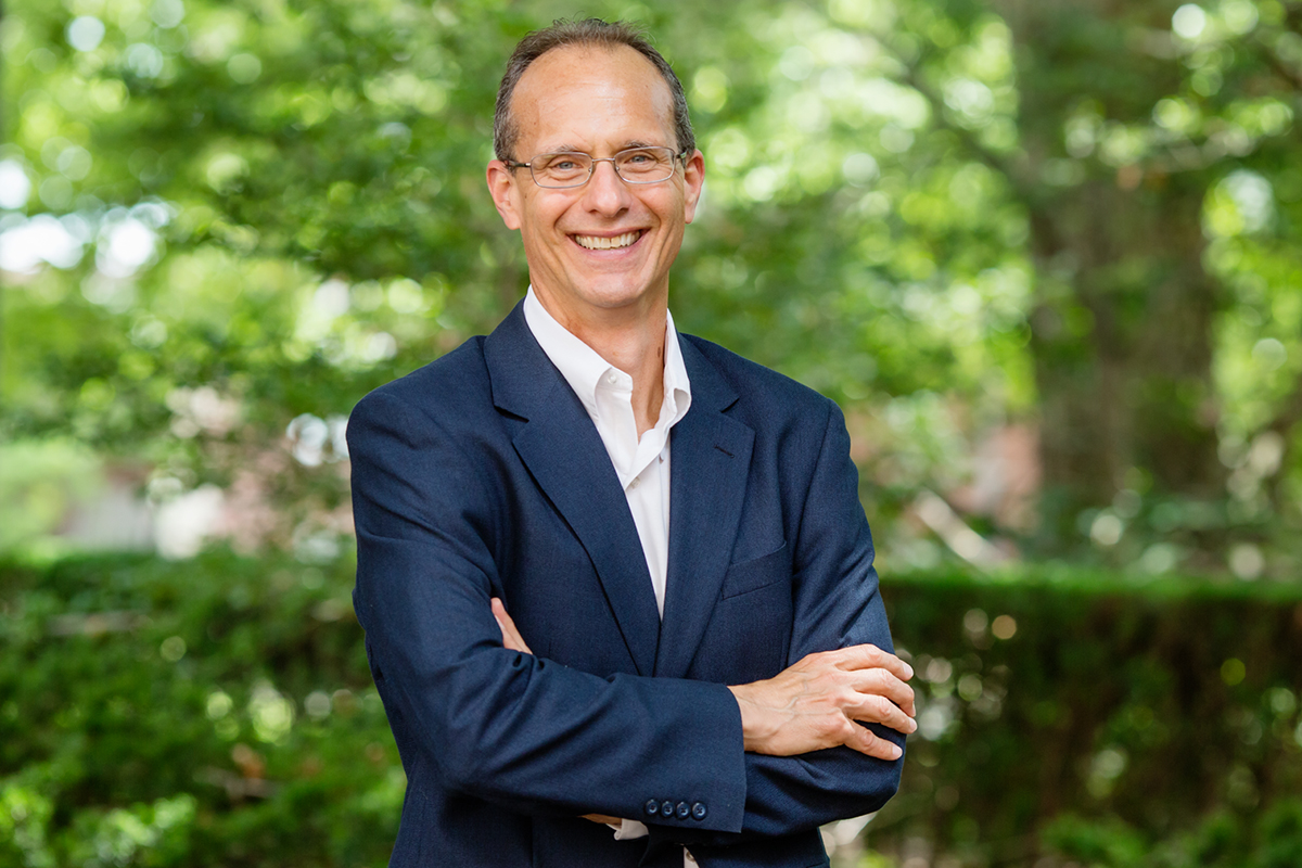 Photo of Robert Bruno, a professor of labor and employment relations on the Urbana campus of the University of Illinois.