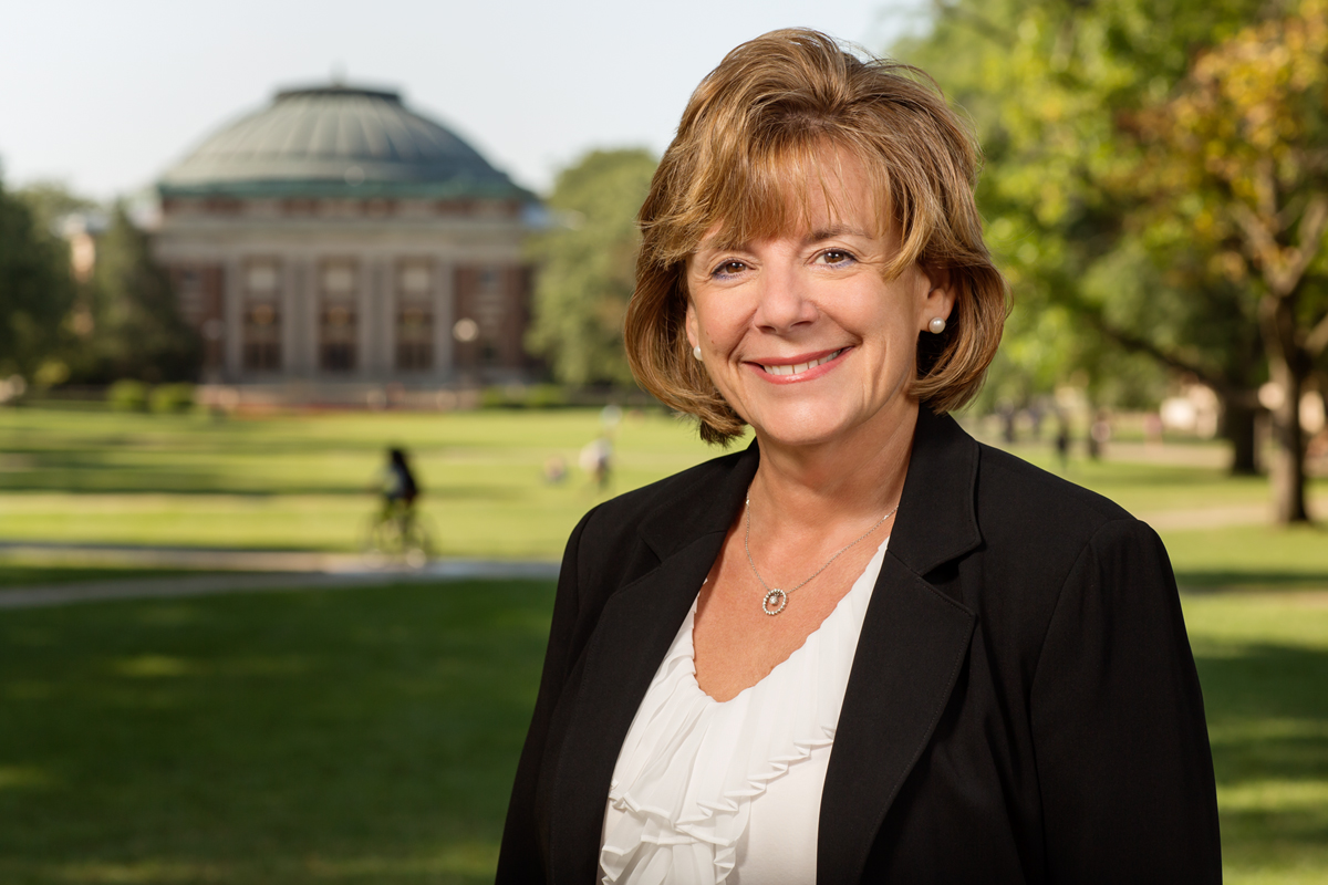 Interim Chancellor Barbara J. Wilson